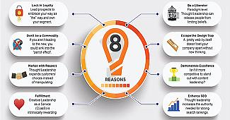 infographic 8 Reasons Why Your Marketing Needs Thought Leadership